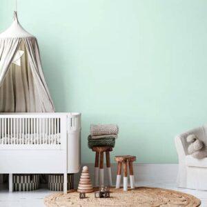 dormitorio infantil pintura a la tiza mint