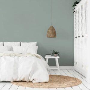 dormitorio pintura a la tiza cielo invernal