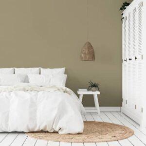 dormitorio pintura a la tiza velvet country beige