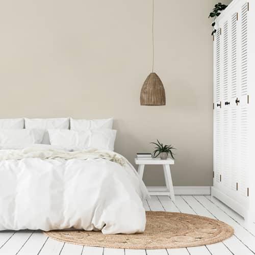 dormitorio pintura a la tiza velvet neutro