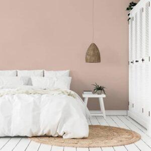 dormitorio pintura a la tiza velvet pink