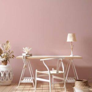 estudio pintura chalk paint rosa antiguo